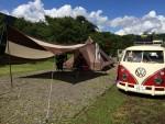 真夏のファミキャンは1年ぶりの和良川公園オートキャンプ場!