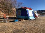 2019年初キャンプは「くしはら温泉ささゆりの湯」ソロで2泊
