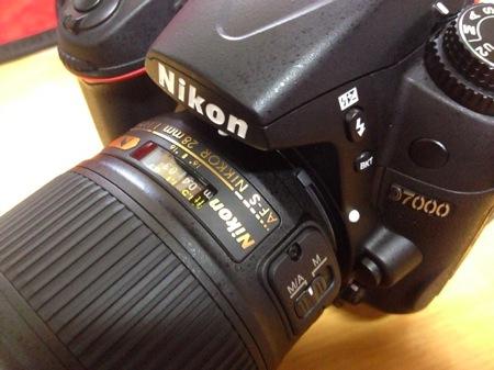 D7000用に単焦点レンズNikon AF-S NIKKOR 28mm f/1.8Gを買ってしまったよ