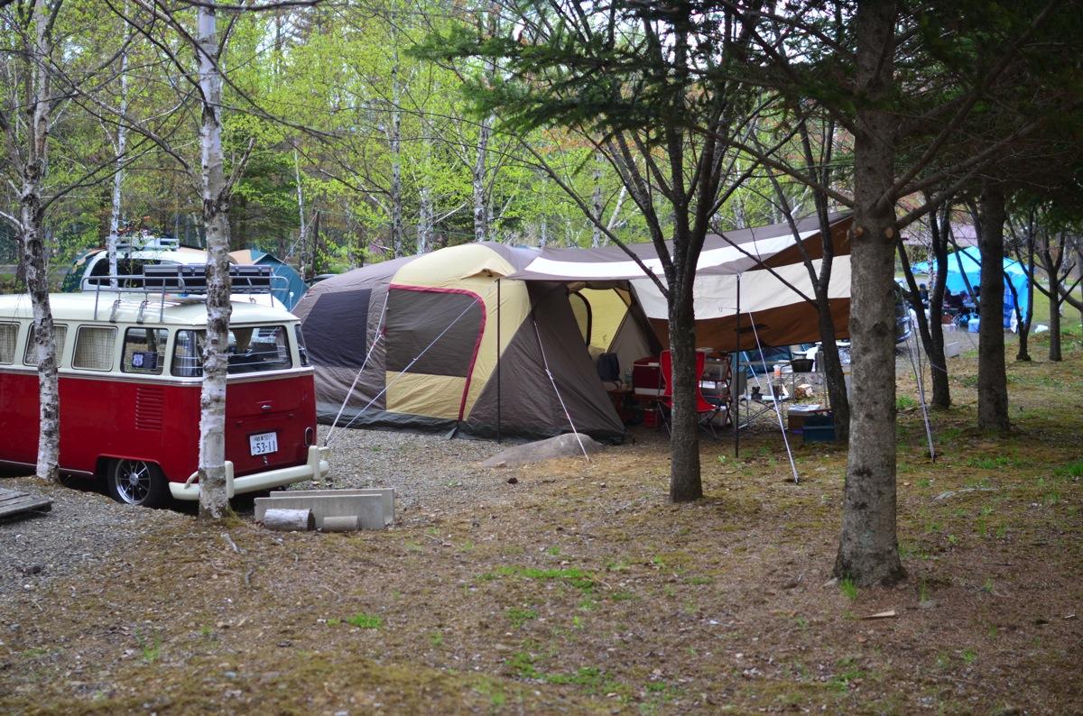 GWキャンプはいつもの木曽駒高原オートキャンプ場へ行ってきた